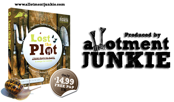 Lost the Plot Book, Published by Allotment Junkie