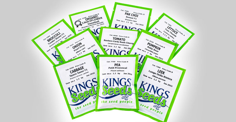 King Seed Packets